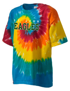 Saint John Lutheran School Eagles Kid's Tie-Dye T-Shirt