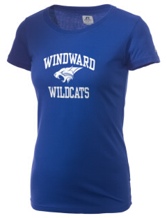 Windward School Wildcats  Russell Women's Campus T-Shirt