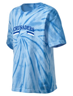 Holy Cross Crusaders Kid's Tie-Dye T-Shirt