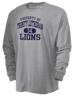 Trinity Lutheran School Lions  Russell Men's Long Sleeve T-Shirt