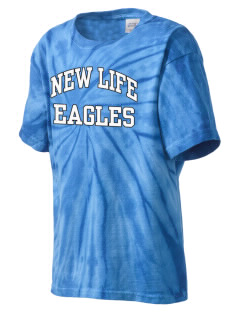 New Life Academy Eagles Kid's Tie-Dye T-Shirt