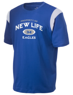 New Life Academy Eagles Holloway Men's Rush T-Shirt