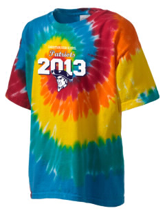 Christian Senior High School Patriots Kid's Tie-Dye T-Shirt