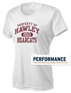 Hawley Middle School Bearcats Women's Competitor Performance T-Shirt
