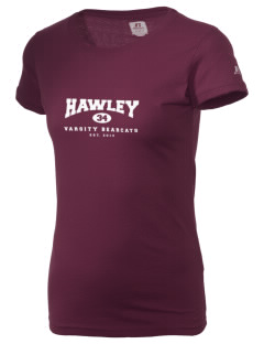Hawley Middle School Bearcats  Russell Women's Campus T-Shirt