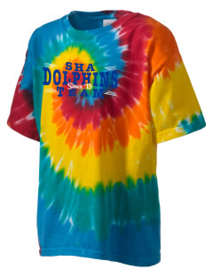 Spring Hill Advanced Elementary School Dolphins Kid's Tie-Dye T-Shirt