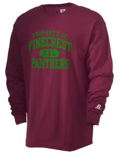 Pinecrest School Panthers  Russell Men's Long Sleeve T-Shirt