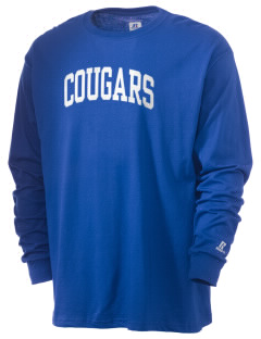 University Hills Lutheran School Cougars  Russell Men's Long Sleeve T-Shirt