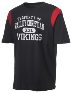 Valley Christian High School Vikings Holloway Men's Rush T-Shirt