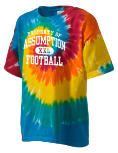 Assumption - St. Bridget Bulldogs Kid's Tie-Dye T-Shirt