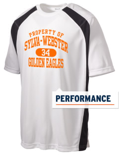 Sylva-Webster High School Golden Eagles Men's Dry Zone Colorblock T-Shirt