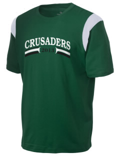 Clemons Lutheran School Crusaders Holloway Men's Rush T-Shirt