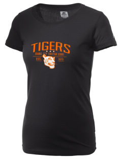 Orange City Christian School Tigers  Russell Women's Campus T-Shirt