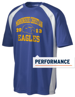 Morningside Christian School Eagles Men's Dry Zone Colorblock T-Shirt