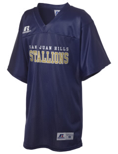 San Juan Hills High School Stallions Russell Kid's Replica Football Jersey