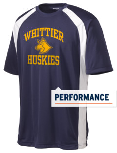 Whittier Elementary School Huskies Men's Dry Zone Colorblock T-Shirt
