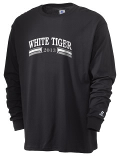 V.I.S.A White Tiger  Russell Men's Long Sleeve T-Shirt