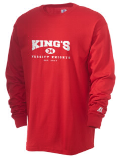 King's Elementary School Knights  Russell Men's Long Sleeve T-Shirt