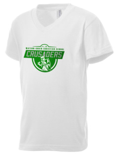 Watson Groen Christian School Crusaders Kid's V-Neck Jersey T-Shirt