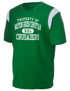 Watson Groen Christian School Crusaders Holloway Men's Rush T-Shirt