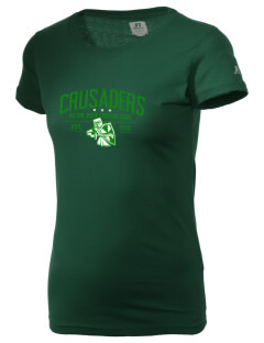 Watson Groen Christian School Crusaders  Russell Women's Campus T-Shirt
