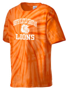North Seattle Christian School Lions Kid's Tie-Dye T-Shirt