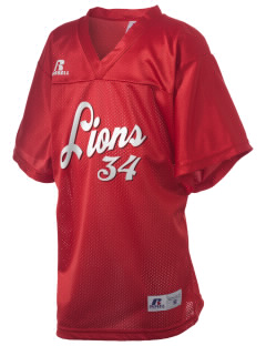 North Seattle Christian School Lions Russell Kid's Replica Football Jersey