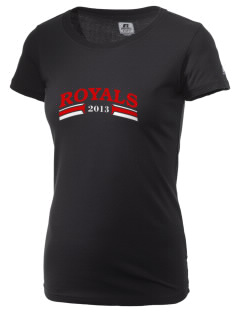 Queen Anne Christian School Royals  Russell Women's Campus T-Shirt