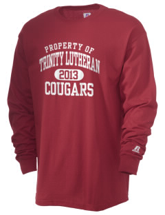 Trinity Lutheran School Cougars  Russell Men's Long Sleeve T-Shirt