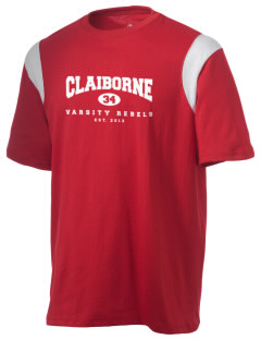 Claiborne Academy Rebels Holloway Men's Rush T-Shirt