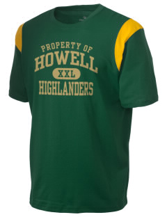 Howell High School Highlanders Holloway Men's Rush T-Shirt