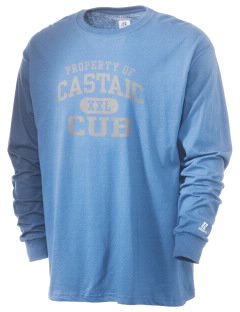 Castaic Elementary School Cub  Russell Men's Long Sleeve T-Shirt