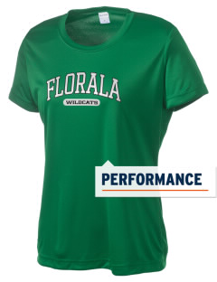 Florala High School Wildcats Women's Competitor Performance T-Shirt