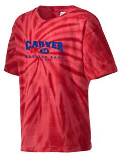 George Washington Carver High School Rams Kid's Tie-Dye T-Shirt