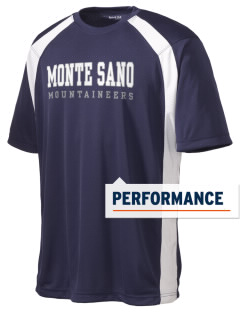 Monte Sano Elementary School Mountaineers Men's Dry Zone Colorblock T-Shirt