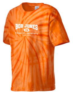 Bob Jones High School Patriots Kid's Tie-Dye T-Shirt