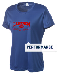 Linden High School Patriots Women's Competitor Performance T-Shirt