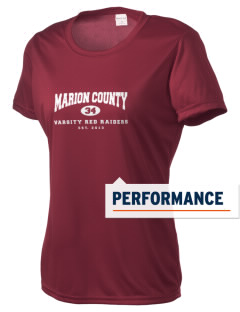 Marion County High School Red Raiders Women's Competitor Performance T-Shirt