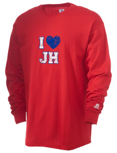 Julian Harris Elementary School Challengers  Russell Men's Long Sleeve T-Shirt