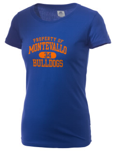 Montevallo High School Bulldogs  Russell Women's Campus T-Shirt