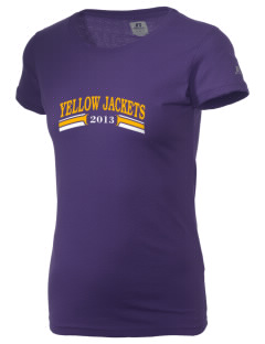 Winston County High School Yellow Jackets  Russell Women's Campus T-Shirt