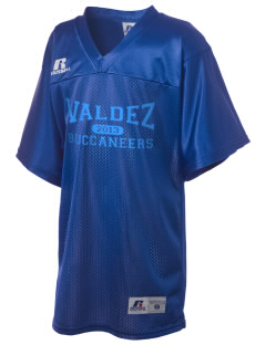 Valdez High School Buccaneers Russell Kid's Replica Football Jersey