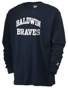 Baldwin Academy Braves  Russell Men's Long Sleeve T-Shirt