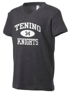 Tenino Middle School Knights Kid's V-Neck Jersey T-Shirt