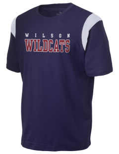 Wilson Primary School Wildcats Holloway Men's Rush T-Shirt