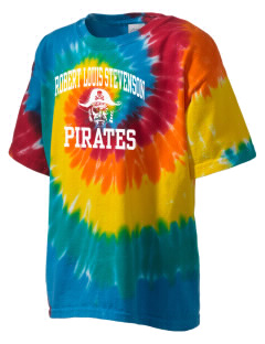 Robert Louis Stevenson Elementary School Pirates Kid's Tie-Dye T-Shirt