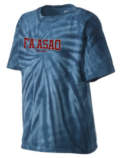 fa'asao high cougars Kid's Tie-Dye T-Shirt