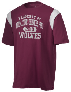 Normatives Services Prep School Wolves Holloway Men's Rush T-Shirt