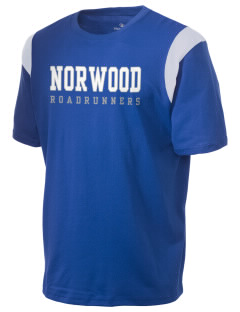 Norwood Elementary School Roadrunners Holloway Men's Rush T-Shirt