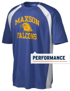 Maxson Elementary School Falcons Men's Dry Zone Colorblock T-Shirt